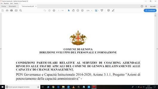 bando Genova